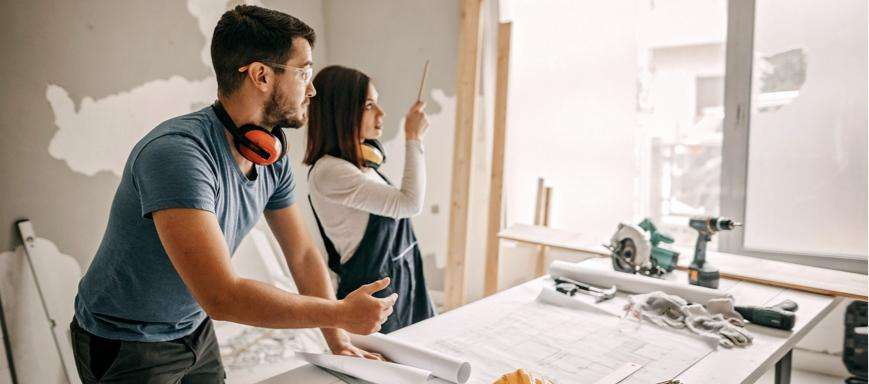 Construction and home improvement loans