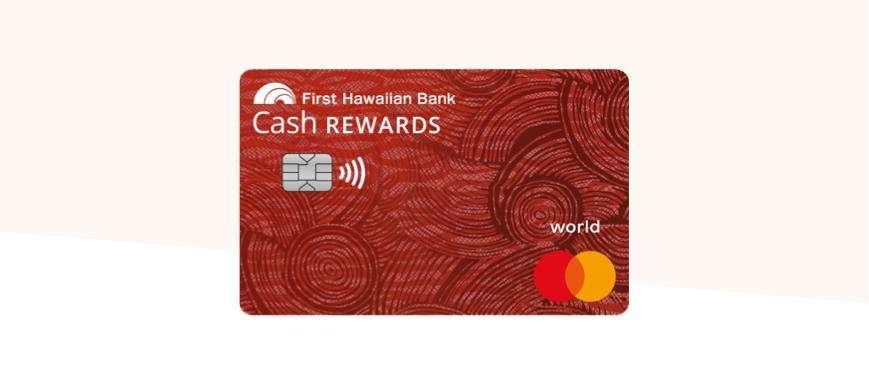 Cash rewards credit card