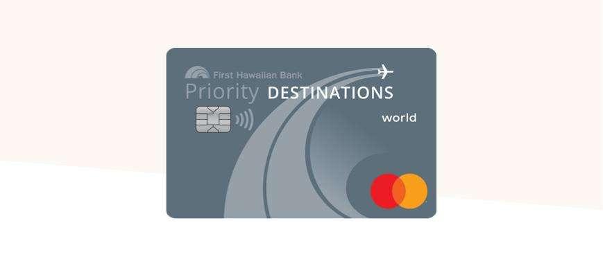 Priority Destinations World Credit Card 1x